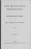 PDF Download of Mayflower Descendant Volume 10 (1908)