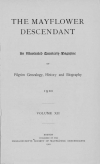 PDF Download of Mayflower Descendant Volume 12 (1910)