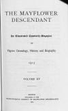 PDF Download of Mayflower Descendant Volume 15 (1913)