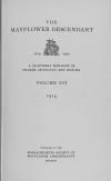 PDF Download of Mayflower Descendant Volume 16 (1914)