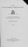 PDF Download of Mayflower Descendant Volume 18 (1916)