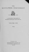 PDF Download of Mayflower Descendant Volume 19 (1917)
