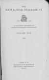 PDF Download of Mayflower Descendant Volume 22 (1920)