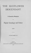 PDF Download of Mayflower Descendant Volume 2 (1900)
