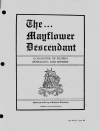 Paper Copy of Mayflower Descendant Vol 44 Issue 1 (1994)